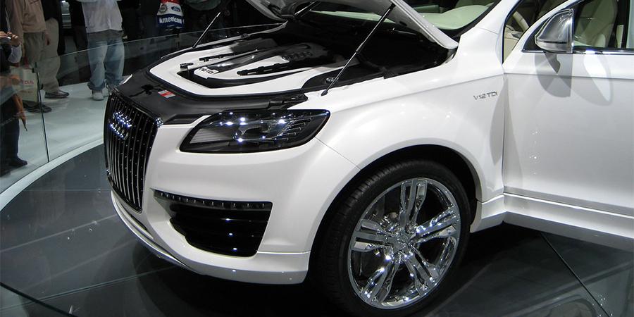 3.0-litre Audi Q7 diesel engine